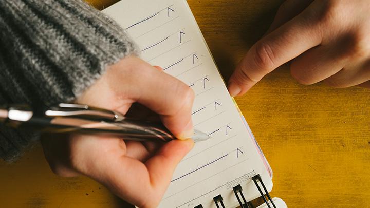 箇条書きやボックスを使ってメリハリをつける