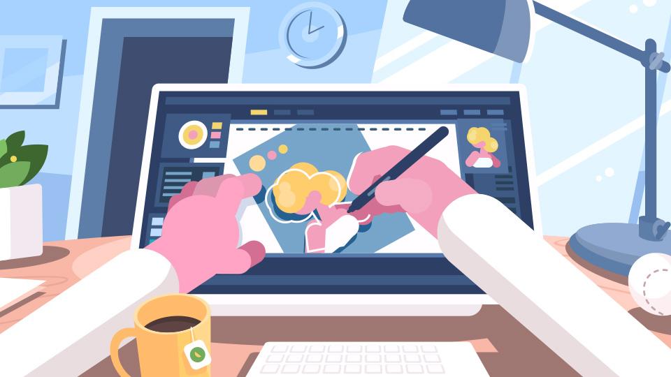 イラストが描けなくてもwebデザイナーになれます