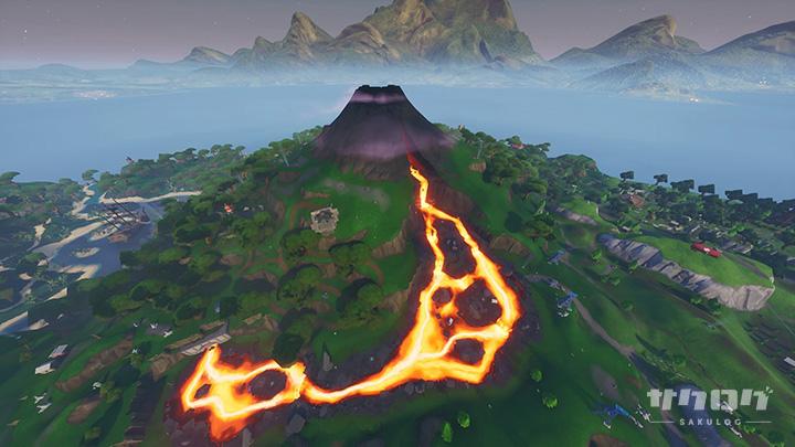 マップに新エリア「火山」が追加
