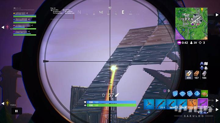 敵の建築物を壊す